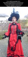 Irene Adler Victorian Bustle Stock 001
