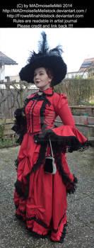 Irene Adler Victorian Bustle Stock 004