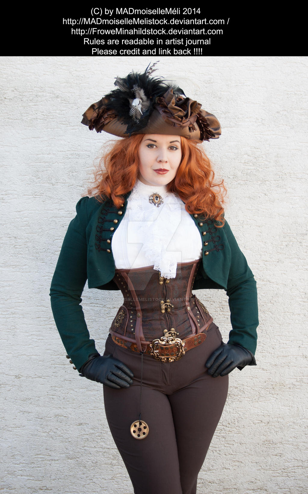 Steampunk Pirate Stock 001 by MADmoiselleMeliStock