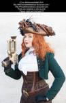 Steampunk Pirate Stock 003