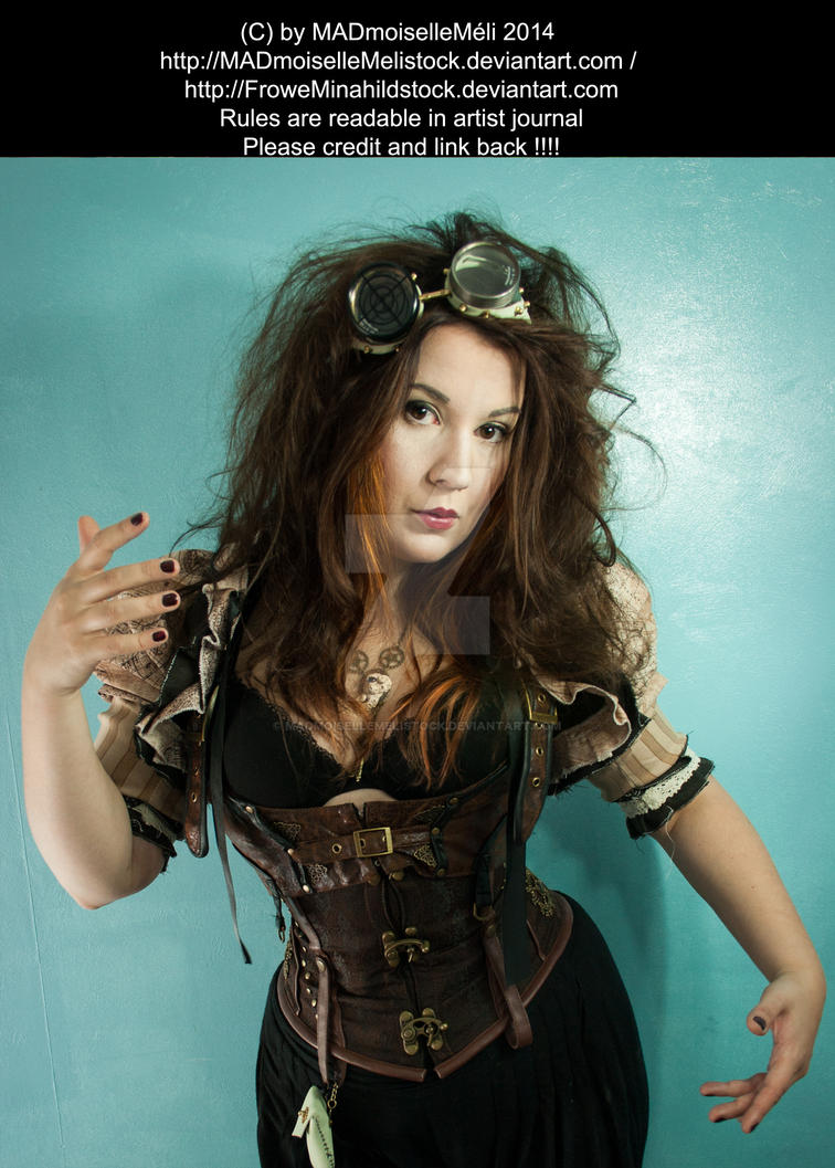 Steampunk Doll Stock 001 by MADmoiselleMeliStock