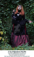 Elegant Gothic Lady Stock 005