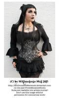 Gothic Lady Stock 003