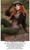 Steampunk Lady Stock 003