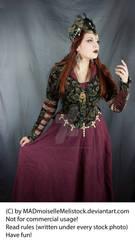 Medieval Fantasy Priestress Stock 002