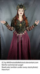 Medieval Fantasy Priestress Stock 003