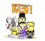 Despicable M3 Minions by Junited