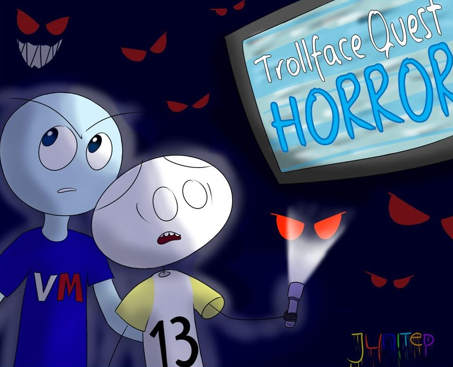 NEW! Trollface Quest Horror! by Junited