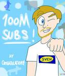 Pewdiepie 100M Subs by Junited