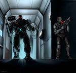 Quake 2 - Tank vs Marine