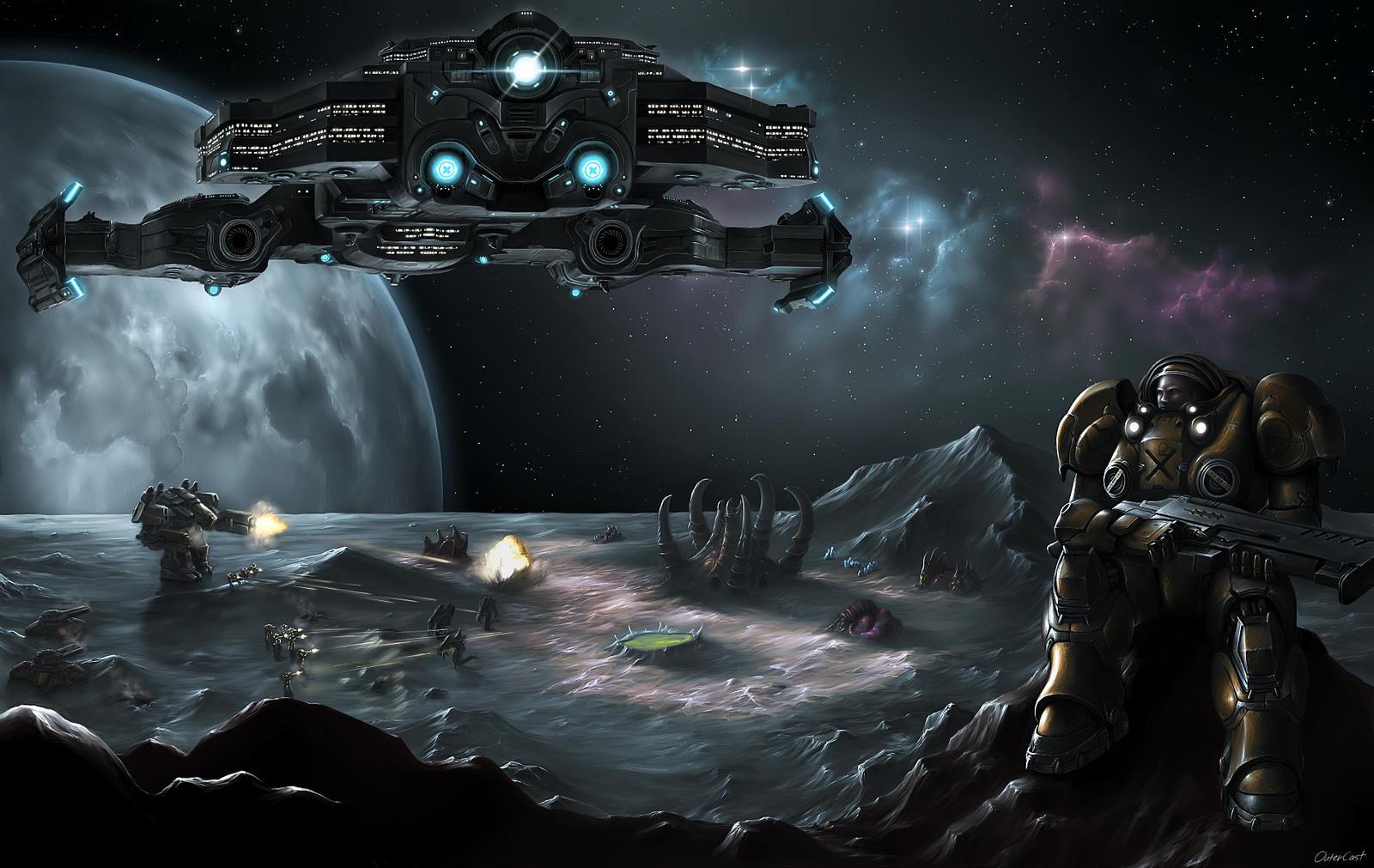 StarCraft II Terran - WallDevil