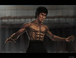 Bruce Lee: Art of the Dragon by OuterKast