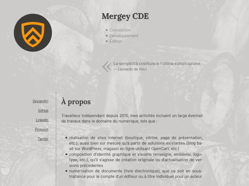 mergey-2.0.0-alpha by GizMecano