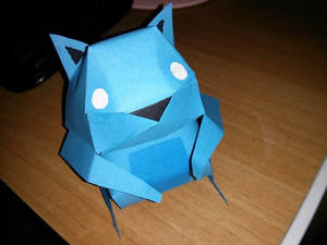 Papercraft Squirrel