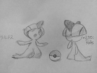 I drew Ralts