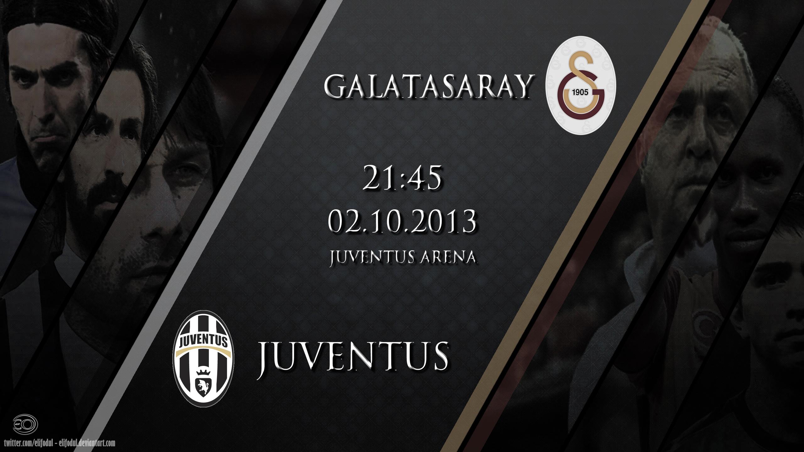 Juventus - Galatasaray CL Wallpaper by elifodul