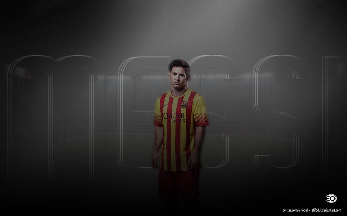 Leo Messi Wallpaper by elifodul