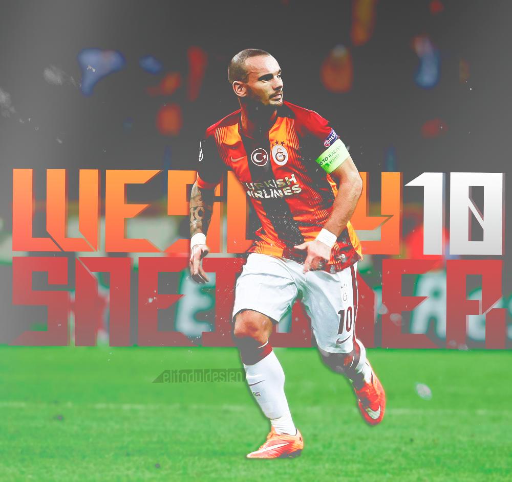 Wesley Sneijder by elifodul on DeviantArt