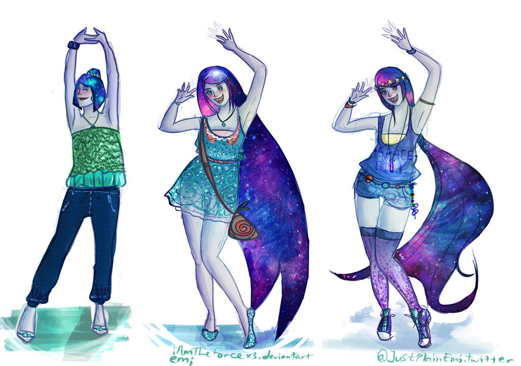 sc 1 st  DeviantArt & Galaxy Princess Capella - outfit design *contest* by iAmTheForcex3 ...