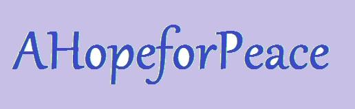 AHopeforPeace Banner by AHopeforPeace