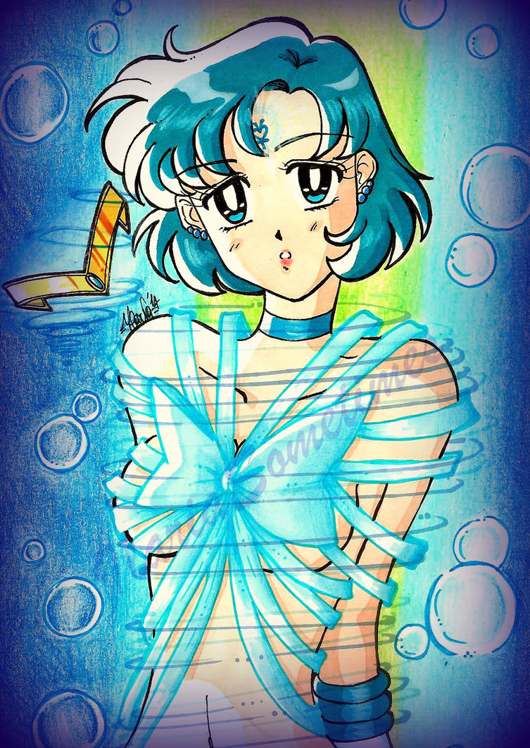 Sailor Mercury transformation by IlariaSometimes