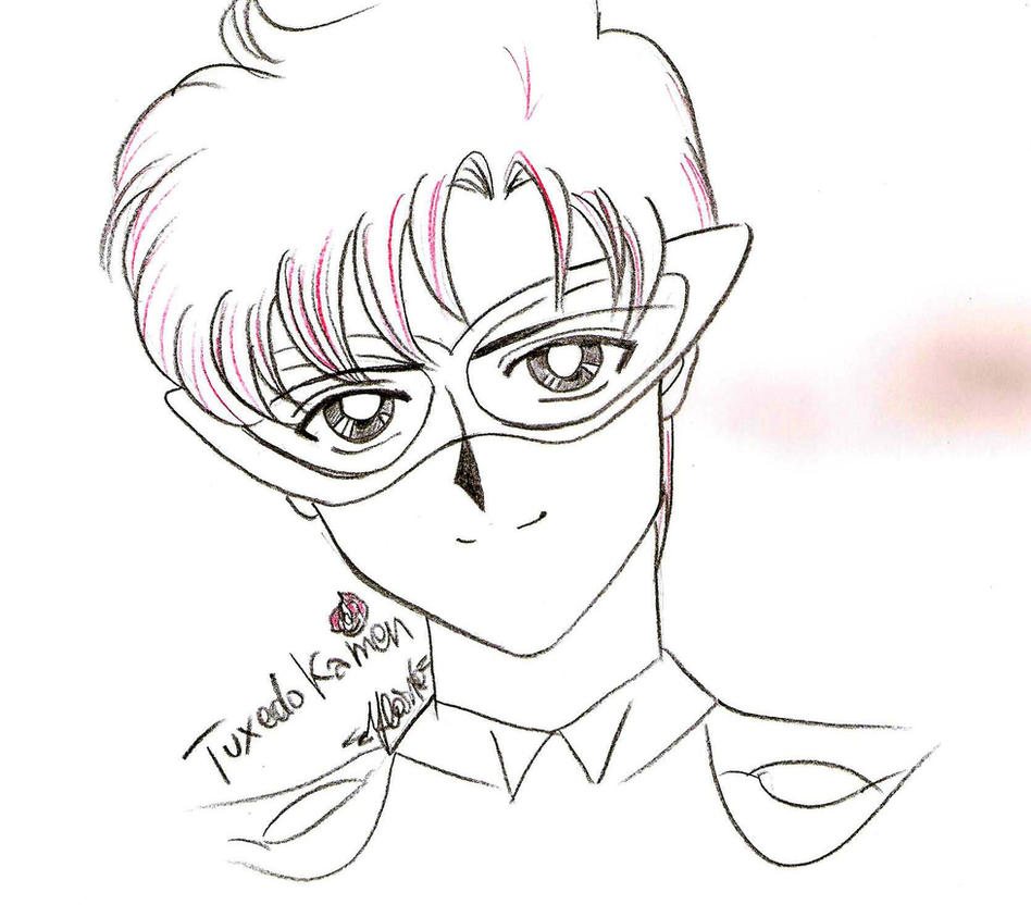Only with pastel - Tuxedo Kamen by IlariaSometimes