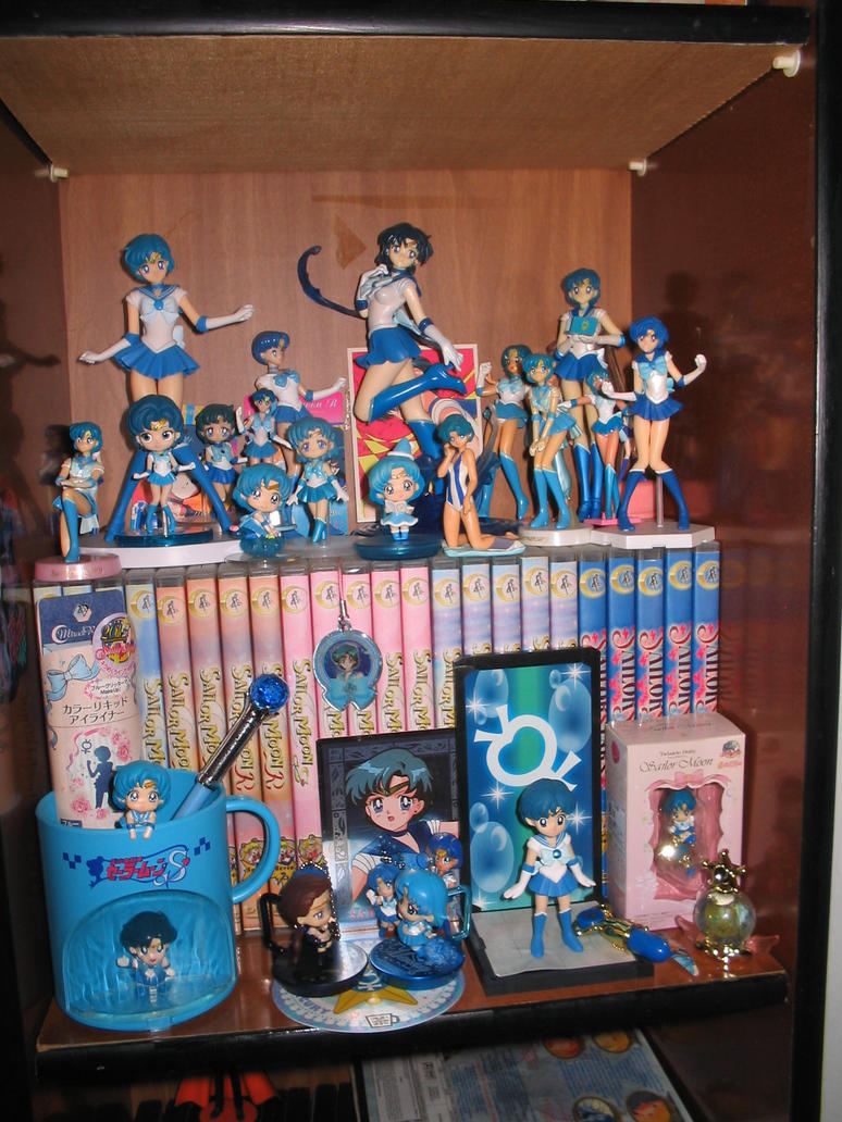 My Sailor Mercury's collection by IlariaSometimes