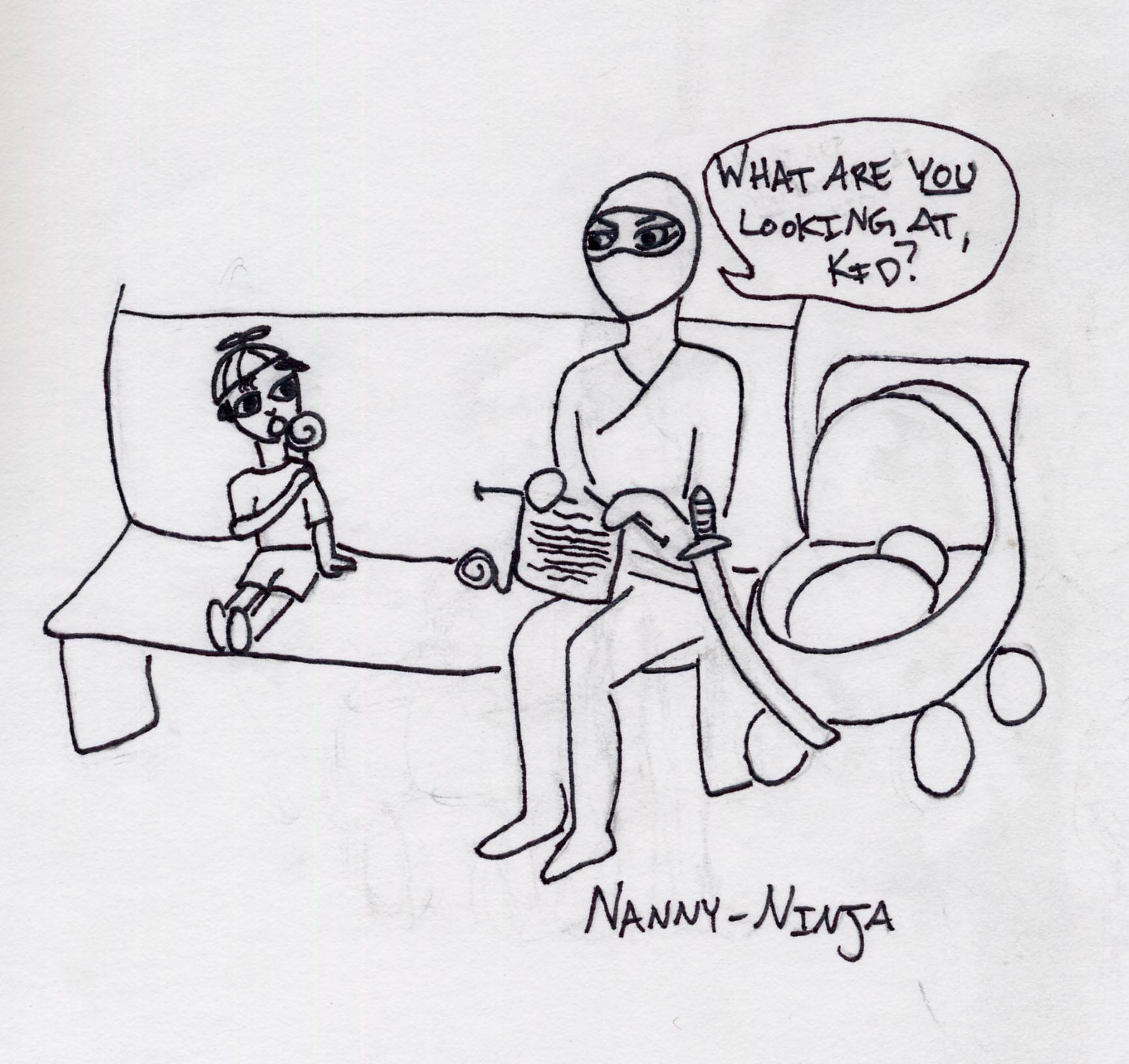 Nanny Ninja by LilithNightwalker