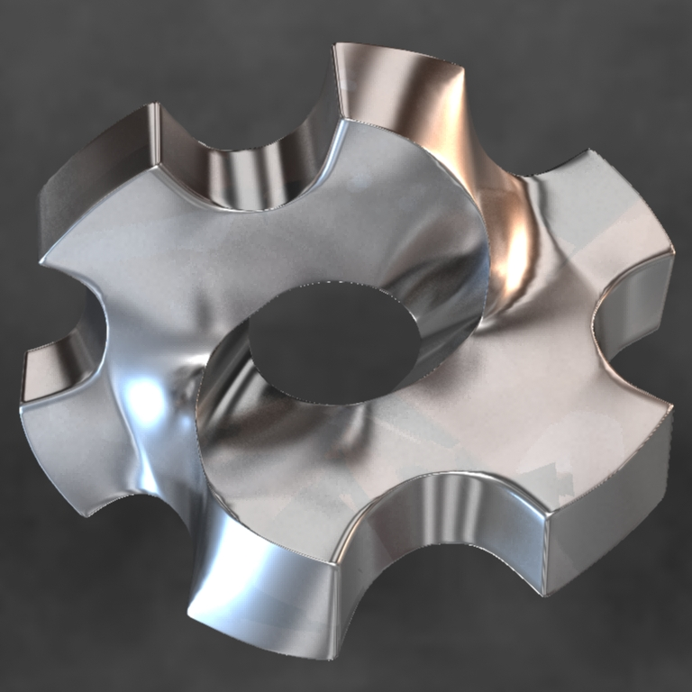First Photoreal rendering of the Impossible Cog