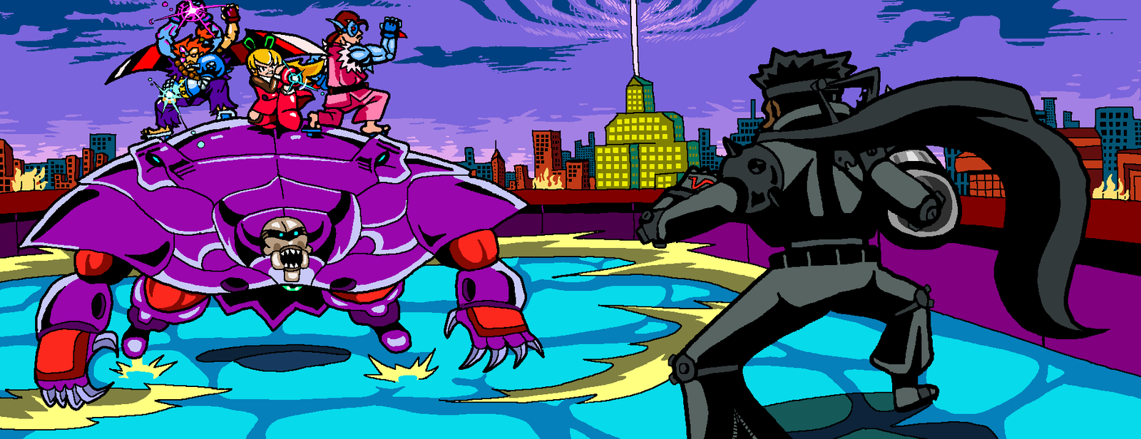Mechanical Mayhem by darkchapel666