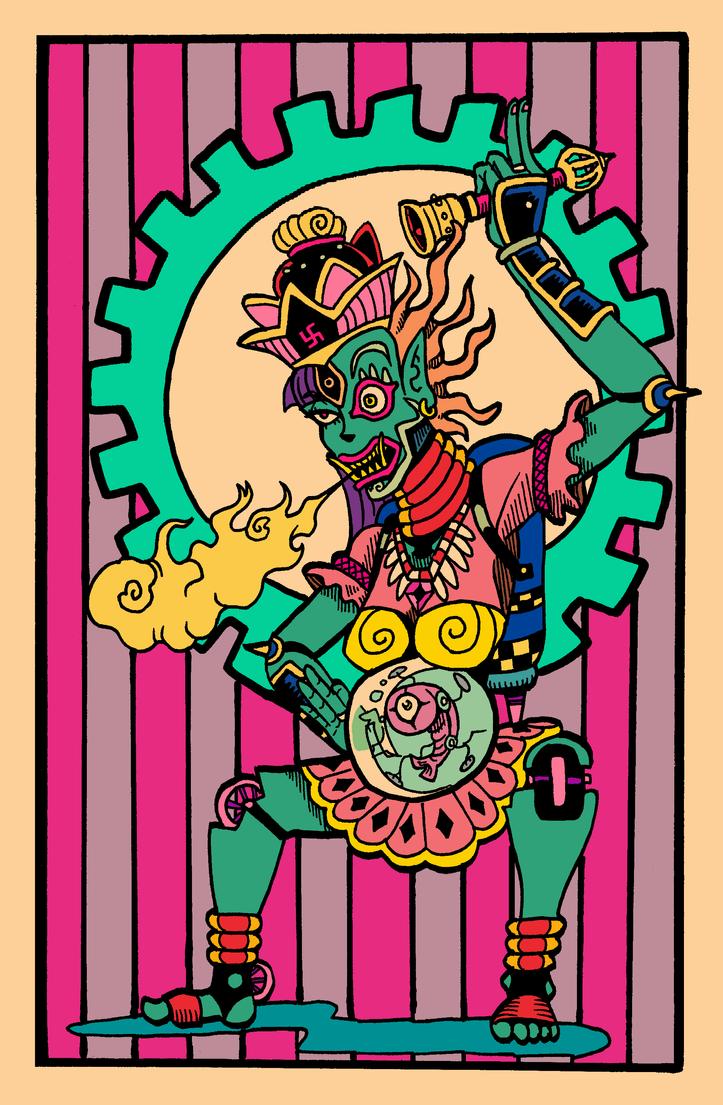 Dios Del Muerte by darkchapel666