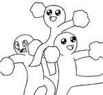 Draw the Squad- Cheerleading