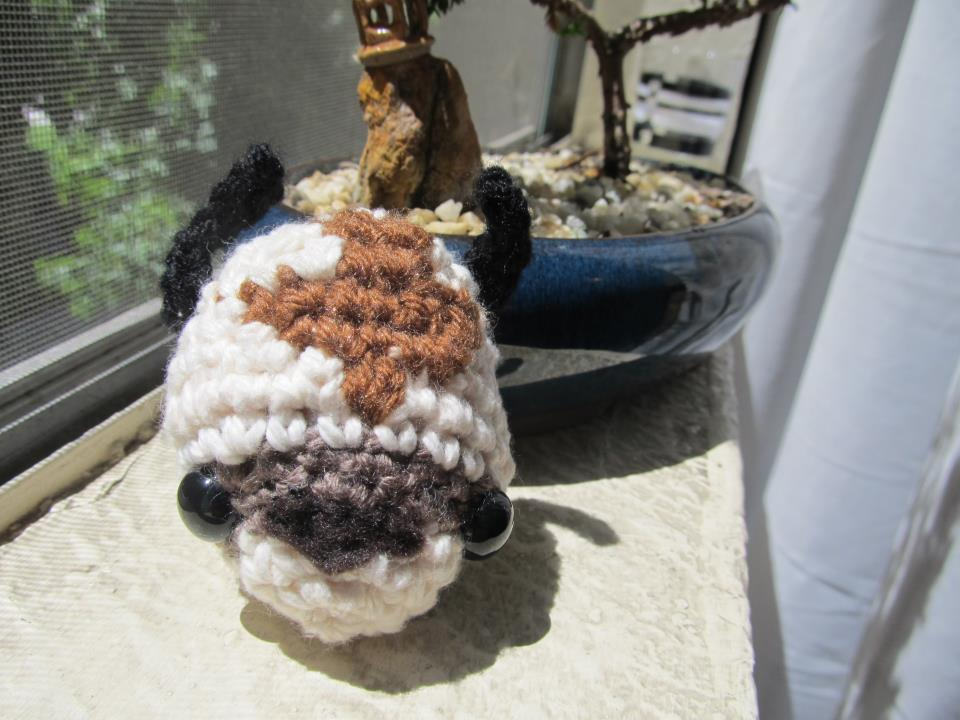 Appa Sky Bison Plushie Avatar By Kisses Or Stitches On Deviantart