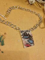 MLP Discord Necklace by Kisses-or-Stitches