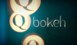 Q bokeh icon by T-bau