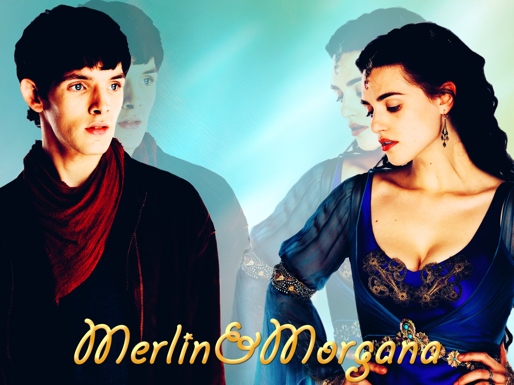 Merlin and Morgana 3 by OrlaDark on DeviantArt