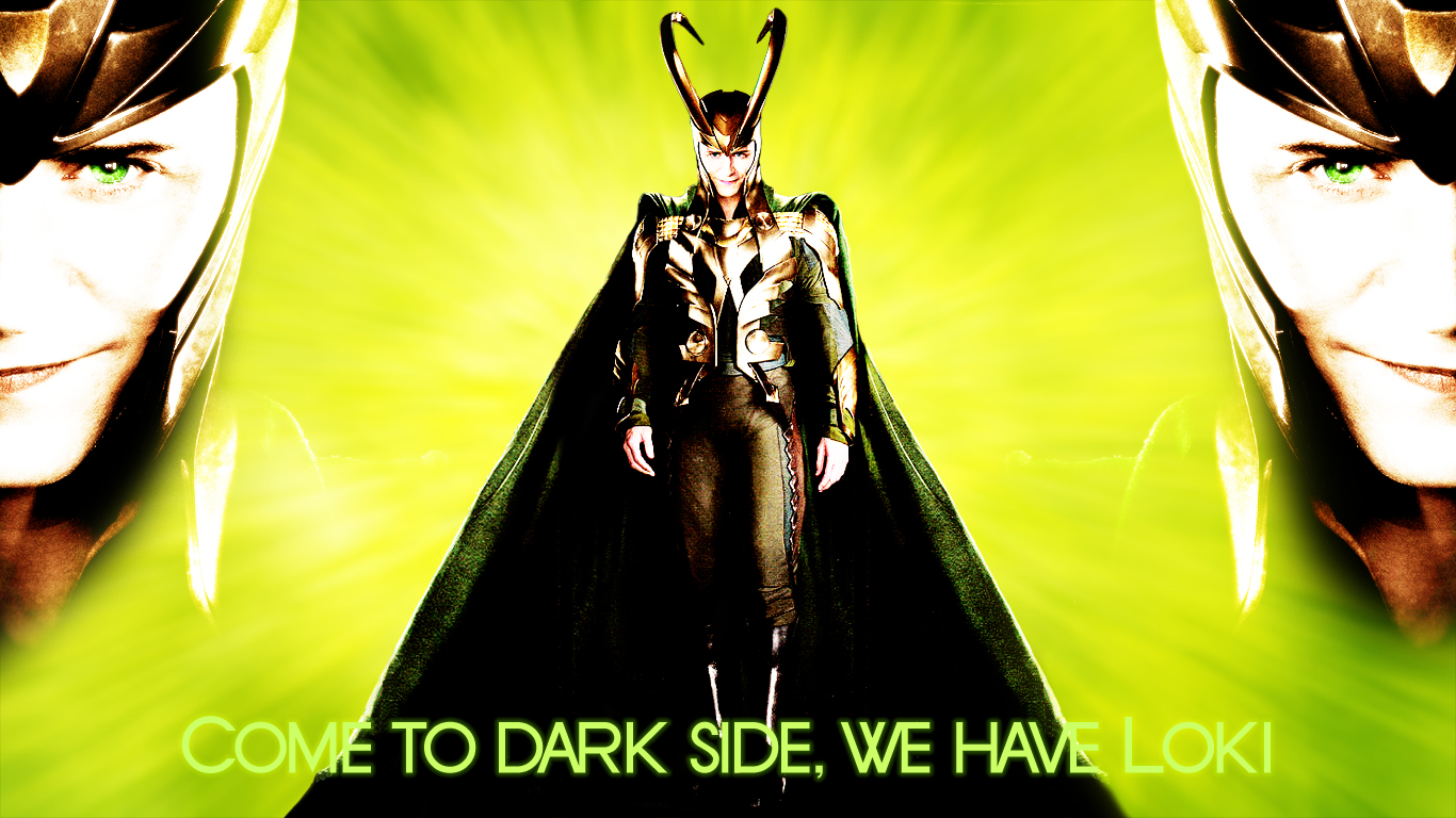 Come to dark side with Loki by OrlaDark