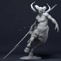 Centaur by CGmodelingCom