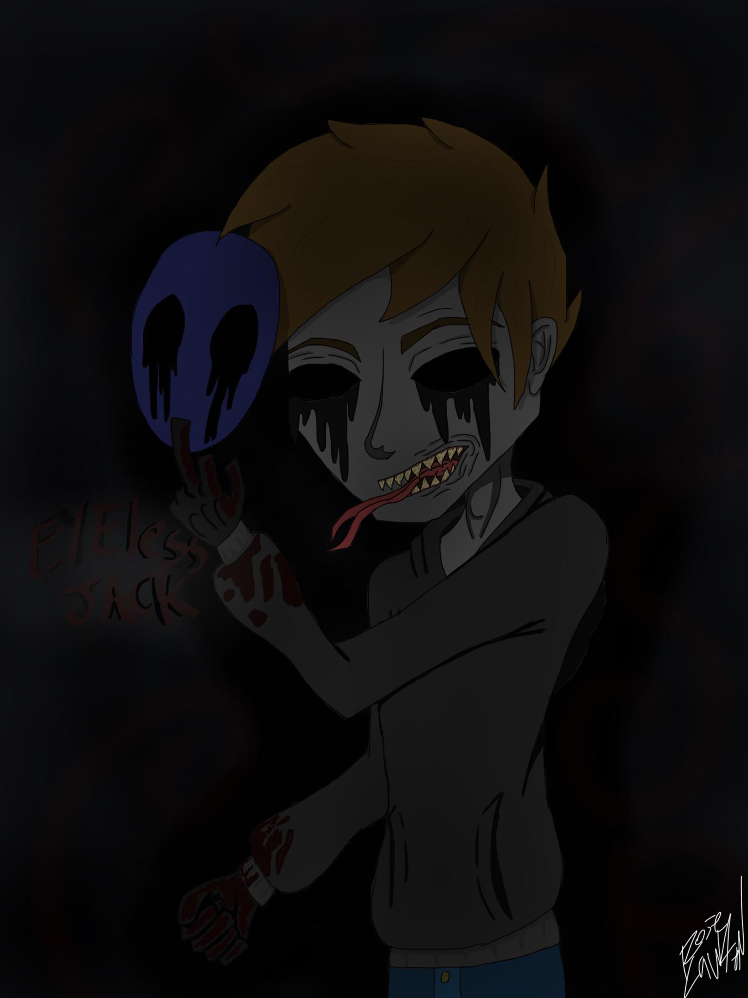 Eyeless Jack Creepypasta By Dragonbreath708 On DeviantArt