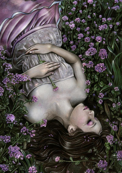 Silent lullaby by Anna-Marine