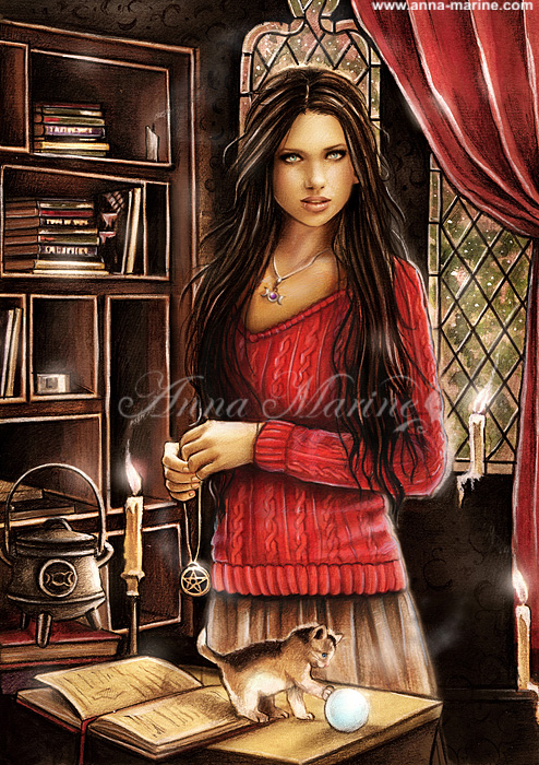 Daughter of Hecate book 1 by Anna-Marine