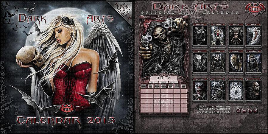 Spiral direct 2013 calendar by Anna-Marine
