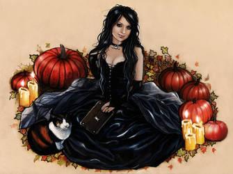Wicca witch by Anna-Marine