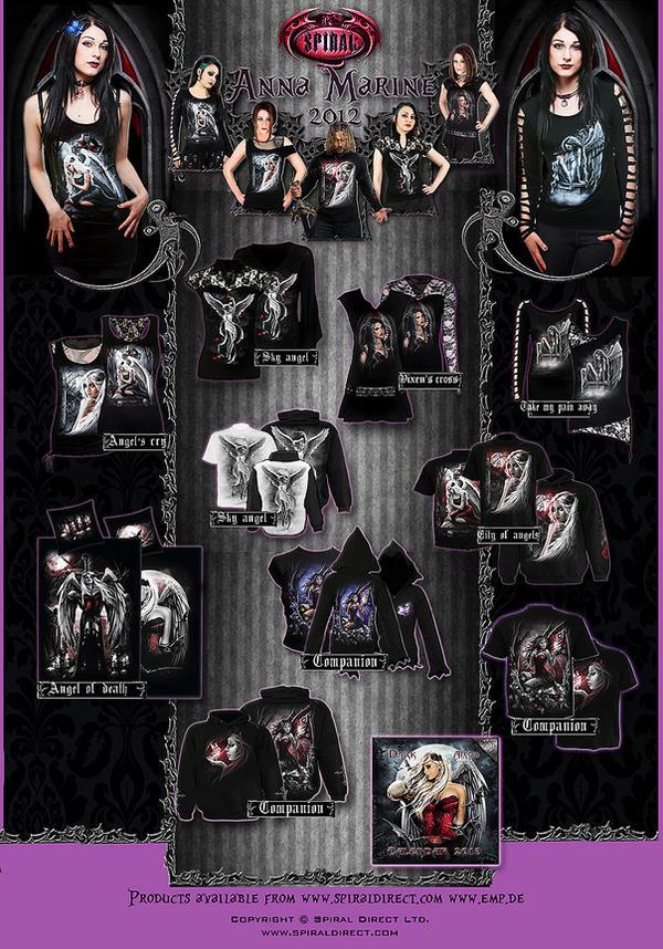 Anna Marine Spiral direct collection 2012 by Anna-Marine