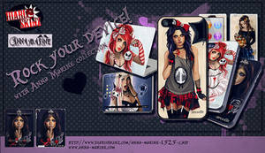 Anna Marine collection of skins and cases
