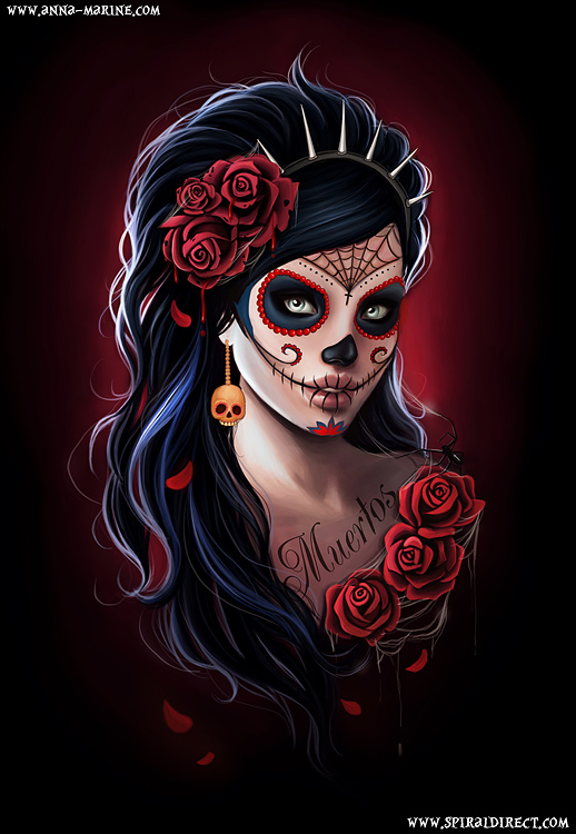 Day Of The Dead - design for Spiral direct by Anna-Marine