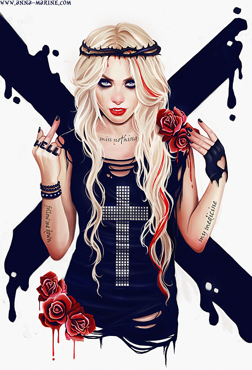 Taylor Momsen by Anna-Marine