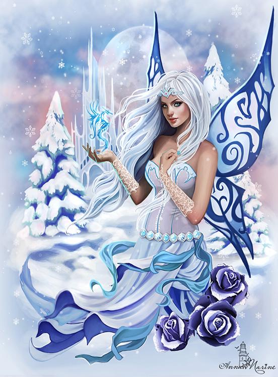 Ice Queen by Anna-Marine