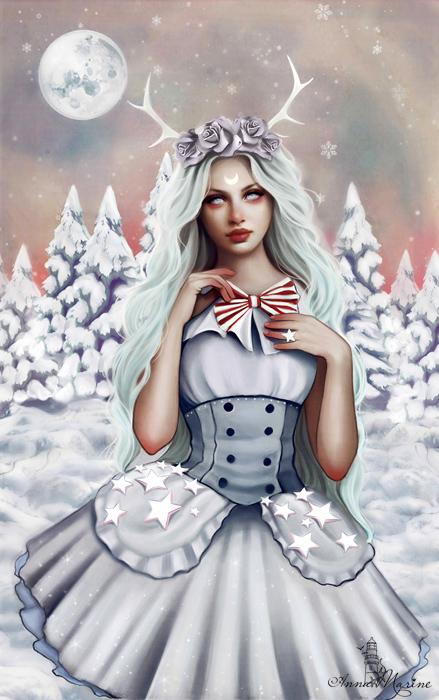 Porcelain heart by Anna-Marine