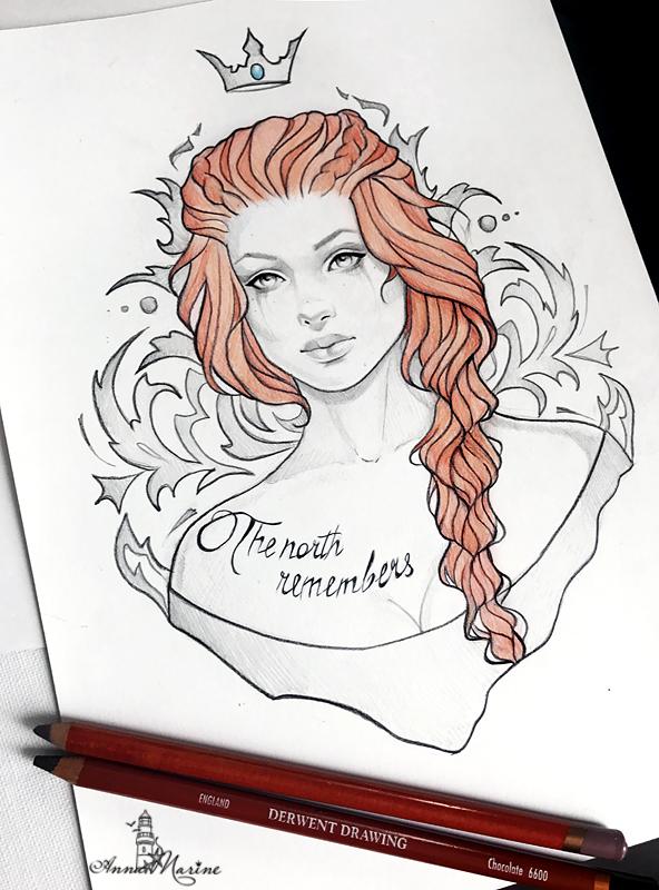 Sansa Stark by Anna-Marine